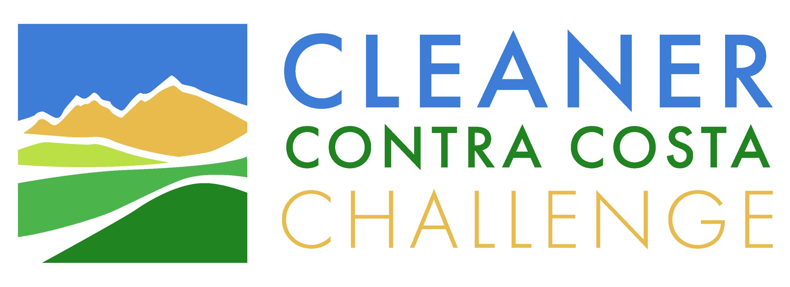 Cleaner Contra Costa Challenge logo