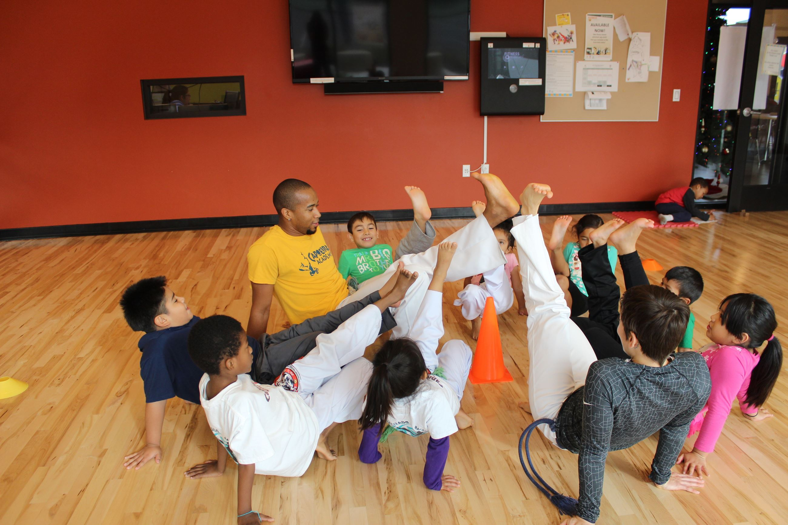 Group of Capoeira Participants