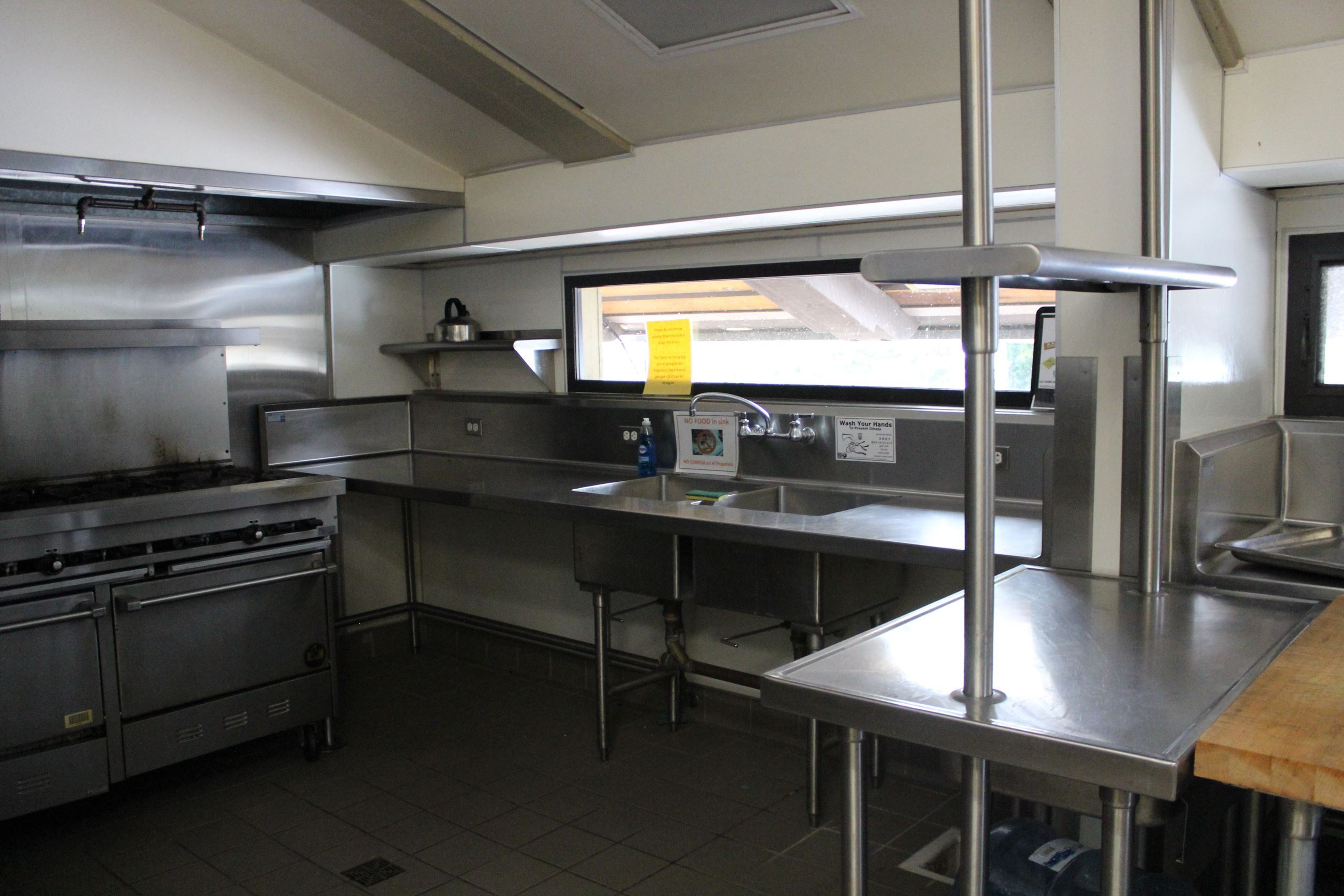 Kitchen In Maple Hall