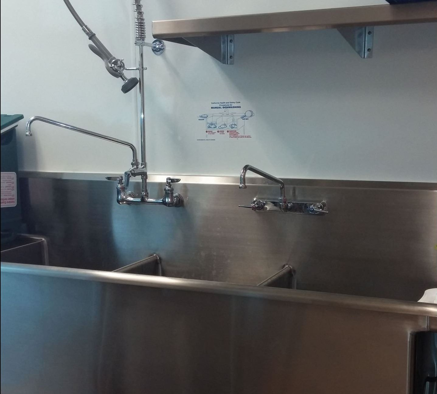 Community Hall Kitchen Sinks