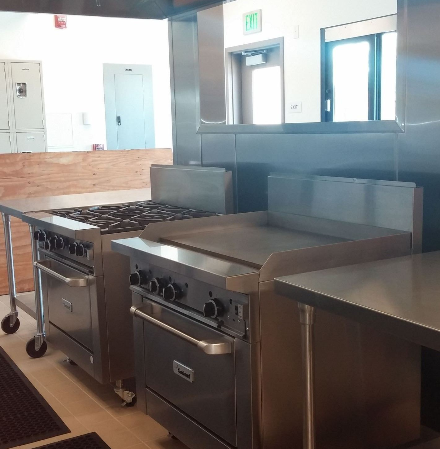 Community Hall Kitchen Stoves