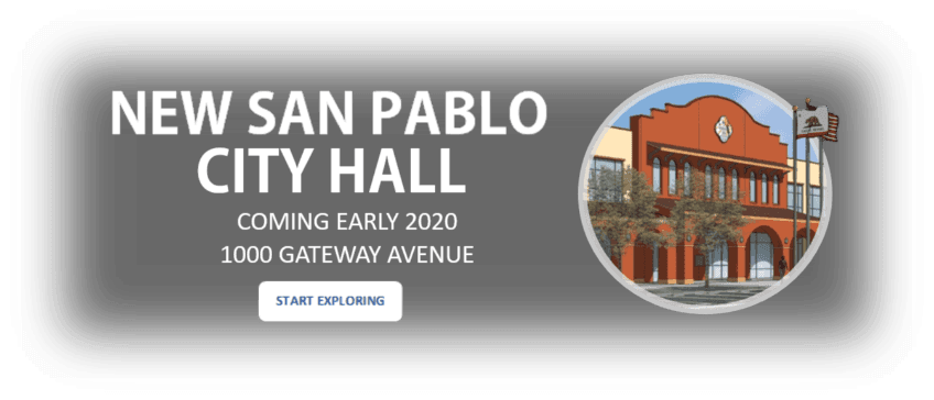 New San Pablo City Hall Web scroll logo
