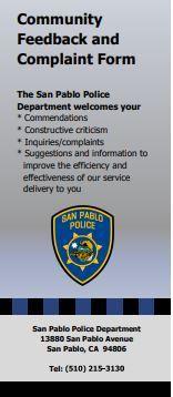 SPPD Complaint Form