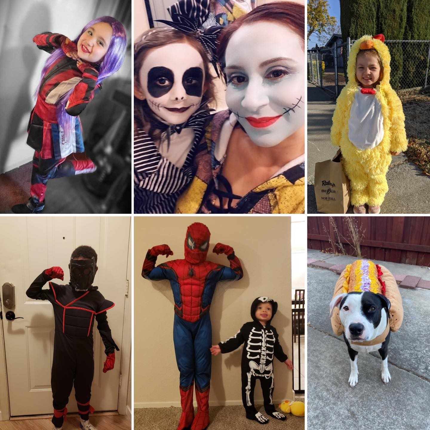 Costume Contest Winners Collage