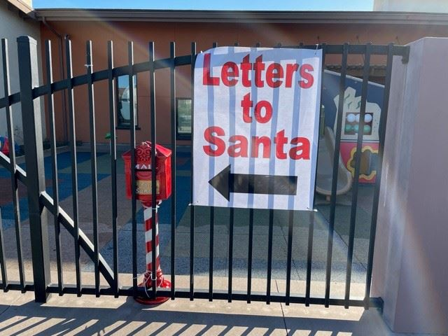 Letters to Santa Sign