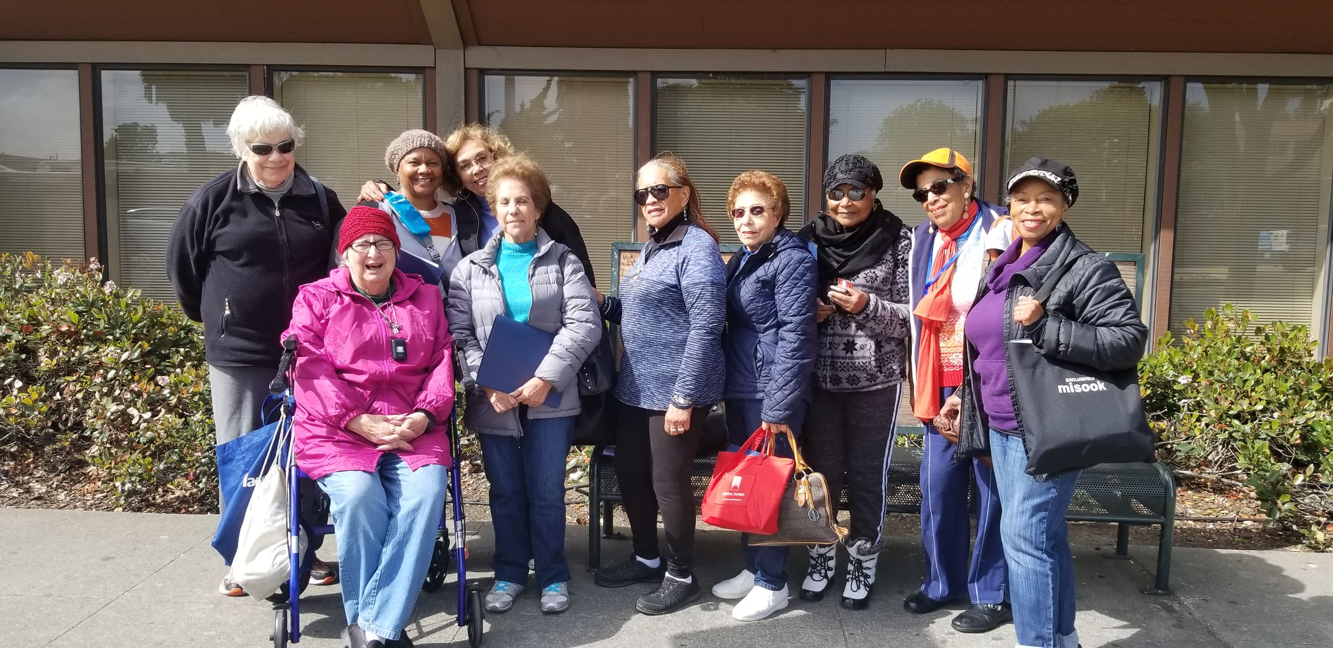 Senior Center Members on Social Trip