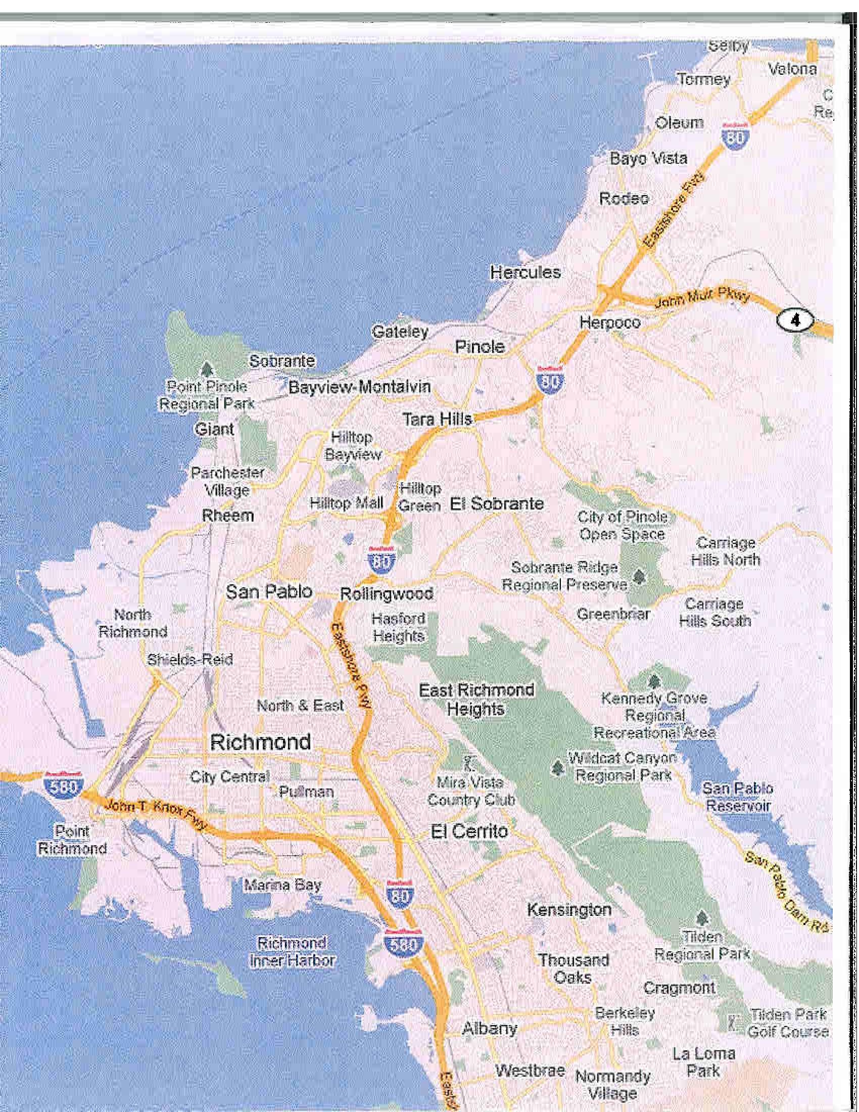 San Pablo Ca Official Website Crime Maps