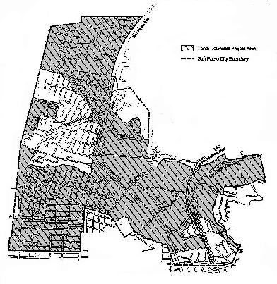 Tenth Township RDA Project Area Map